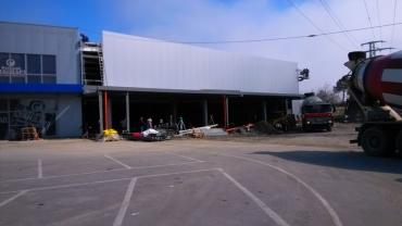 Разширение на супермаркет ЖАНЕТ гр. Несебър