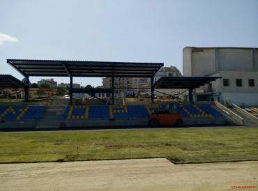 Модернизация на спортен комплекс Черноморец – гр. Бяла